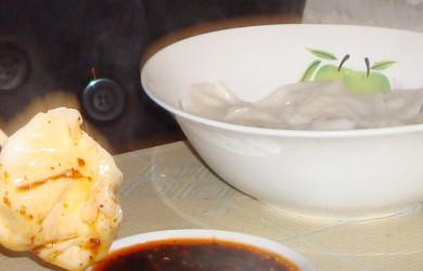 Chinese Dumplings and Vinegar