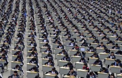 Exam assembly line