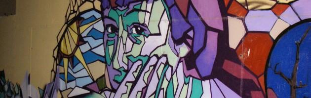 Granada Graffiti Woman