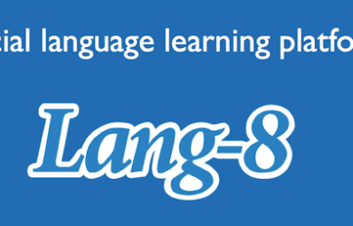 Lang 8 Social Language Learning Platform