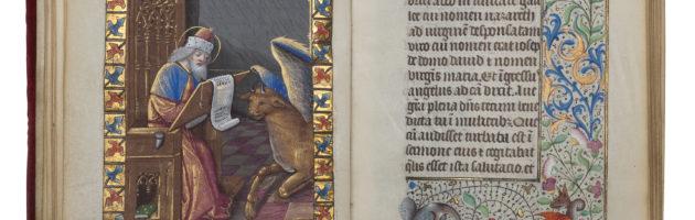 Manuscrito iluminado, Paris c. 1490