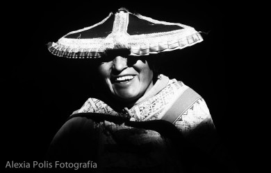 Mujer cuzqueña, por la fotógrafa peruana Alexia Polis