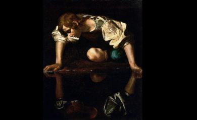 Narciso, por Caravaggio (1594-96)