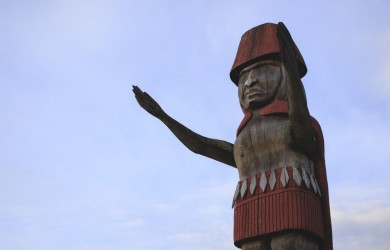 Squamish Welcome Figure